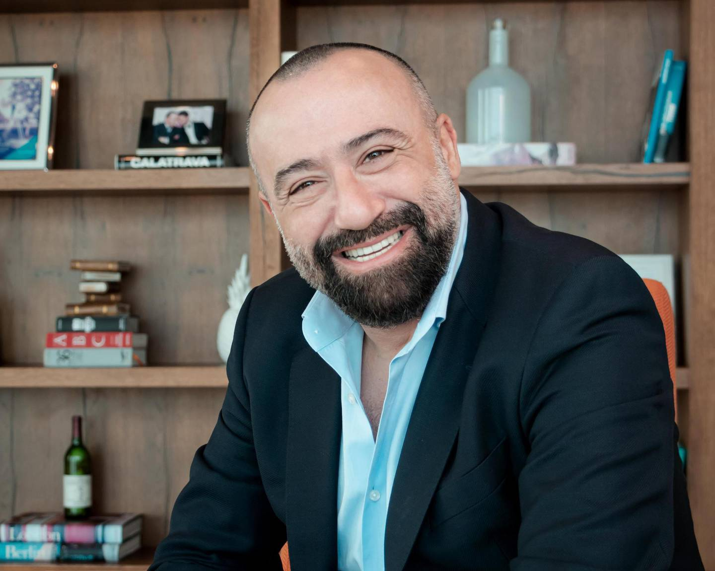 Toufic Kreidieh, the chief executive of BFL Group, which owns the Brands for Less retail chain. Courtesy of BFL Group