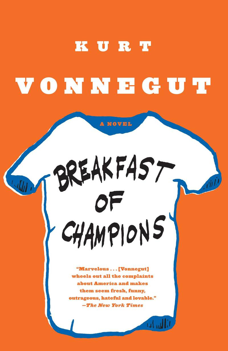 Breakfast of Champions by Kurt Vonnegut published by Dial Press Trade. Courtesy Penguin Random House