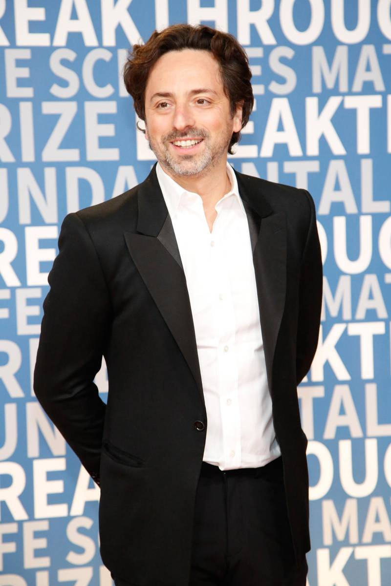 MOUNTAIN VIEW, CA - DECEMBER 03: Alphabet president Sergey Brin attends the 2018 Breakthrough Prize at NASA Ames Research Center on December 3, 2017 in Mountain View, California.   Kimberly White/Getty Images/AFP