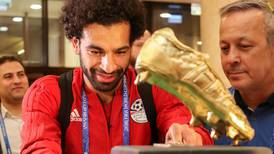 WATCH: Mohamed Salah gets a birthday cake from Chechen fans