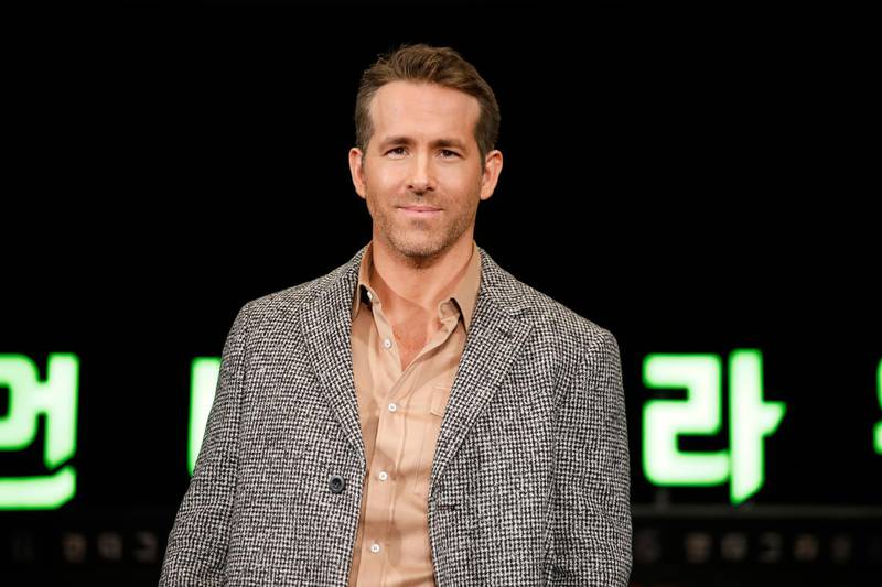 SEOUL, SOUTH KOREA - DECEMBER 02: Ryan Reynolds attends the press conference for the world premiere of Netflix's '6 Underground' at Four Seasons Hotel on December 02, 2019 in Seoul, South Korea. (Photo by Woohae Cho/Getty Images for Netflix)