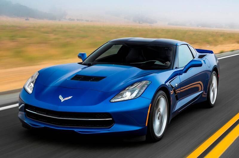 The all-new, seventh-generation 2014 Chevrolet Corvette Stingray.
