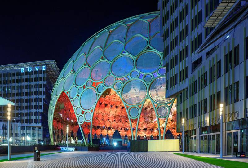 The Rove Expo 2020 is the only hotel on site at the Dubai Expo and has opened for bookings. Photo: Rove Hotels