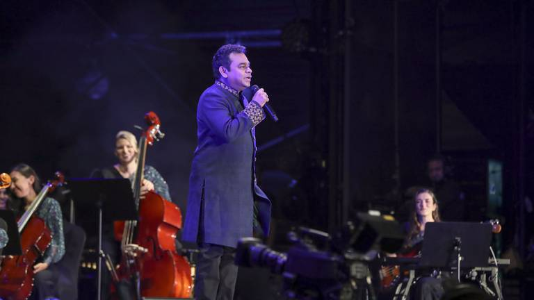 An image that illustrates this article Expo 2020 Dubai: AR Rahman's Firdaus Orchestra makes stellar debut