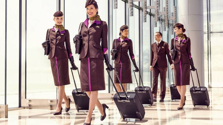 An image that illustrates this article Etihad Airways to hire 1,000 cabin crew