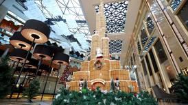 Dubai hotel builds 4.9-metre-tall gingerbread Burj Khalifa