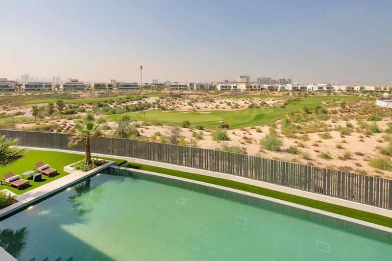 Dubai Hills mansion. Courtesy Luxhabitat Sotheby's International Realty