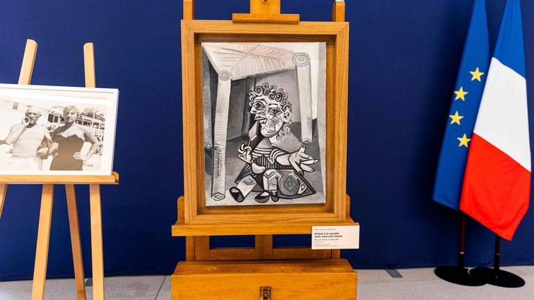 An image that illustrates this article Picasso family hands over artworks to pay French tax