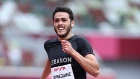 Lebanon's Arz Zahreddine posts personal best in 200 metres