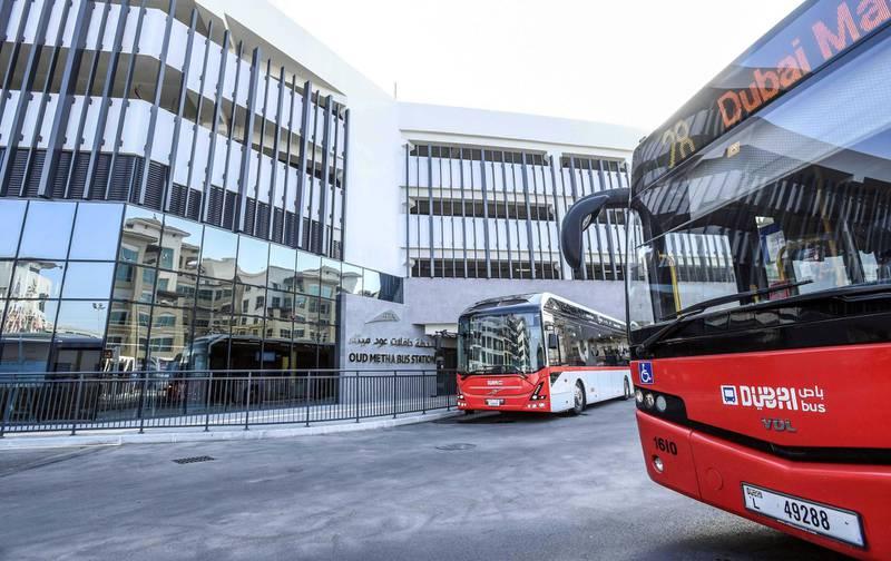 RTA opens Oud Metha model bus station. Photo: RTA
