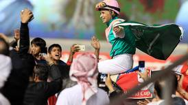 'He's just amazing': A muddy Arrogate leaves 13 horses trailing in Dubai World Cup main event