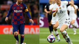 Lionel Messi and Megan Rapinoe favourites to win Ballon d'Or awards