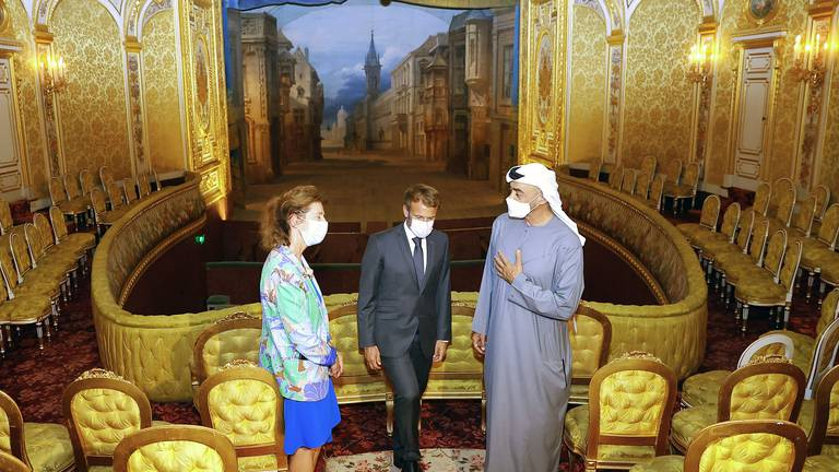 An image that illustrates this article Culture fuels the UAE-France relationship