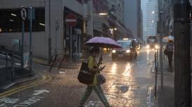 Hong Kong stocks to resume trading after morning black rain storm
