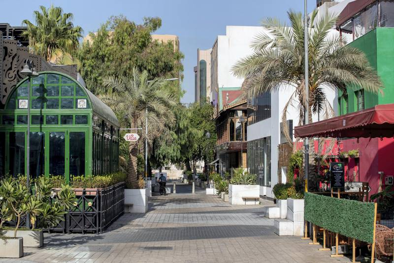 How the businesses are faring at the restaurant district of Bahrain. George Raphel for The National