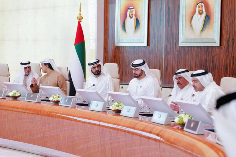 Sheikh Mohammed bin Rashid Al Maktoum, Vice President, Prime Minister and Ruler of Dubai, chaired the UAE Cabinet today. Twitter