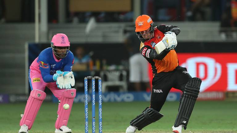 An image that illustrates this article IPL 2021: Roy makes up for Warner's absence as Hyderabad dent Rajasthan