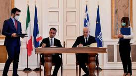 Italy and Greece sign deal defining Mediterranean maritime zones