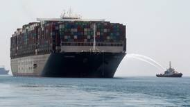 Giant container ship 'Ever Given' sails away from Suez as settlement is reached