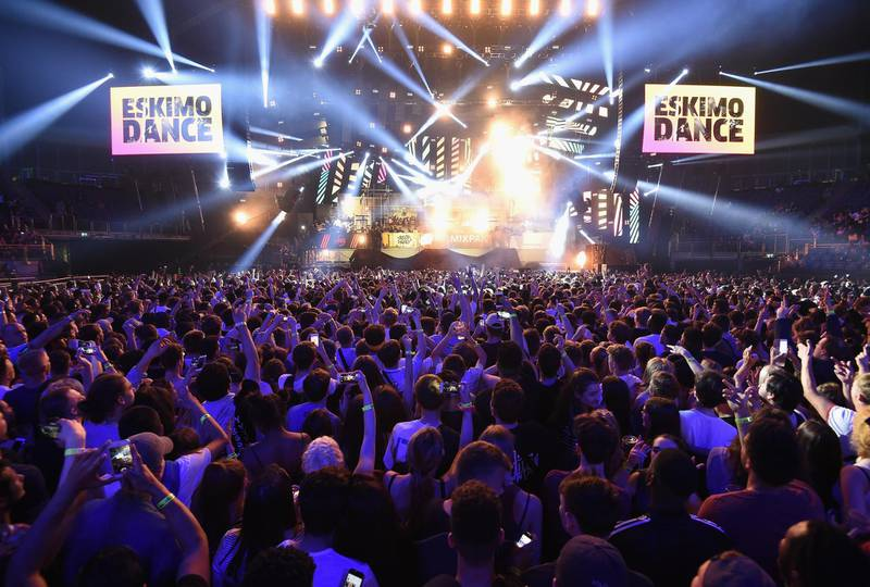 LONDON, ENGLAND - JUNE 17: Eskimo Dance perform at Red Bull Culture Clash at The O2 Arena on June 17, 2016 in London, England.  (Photo by Ben A. Pruchnie/Getty Images for Red Bull)