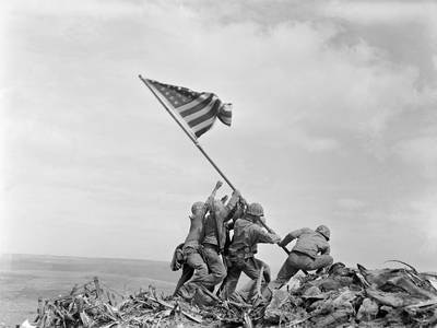 Battle of Iwo Jima, 1945 - in pictures