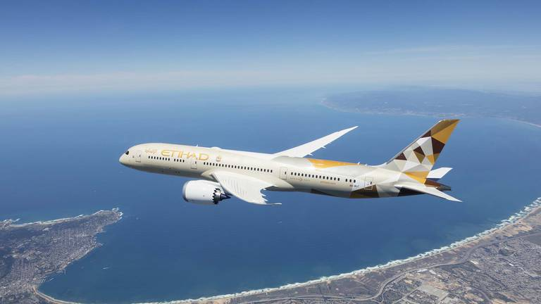 An image that illustrates this article Etihad expects surge in passenger demand as Abu Dhabi opens to vaccinated travellers