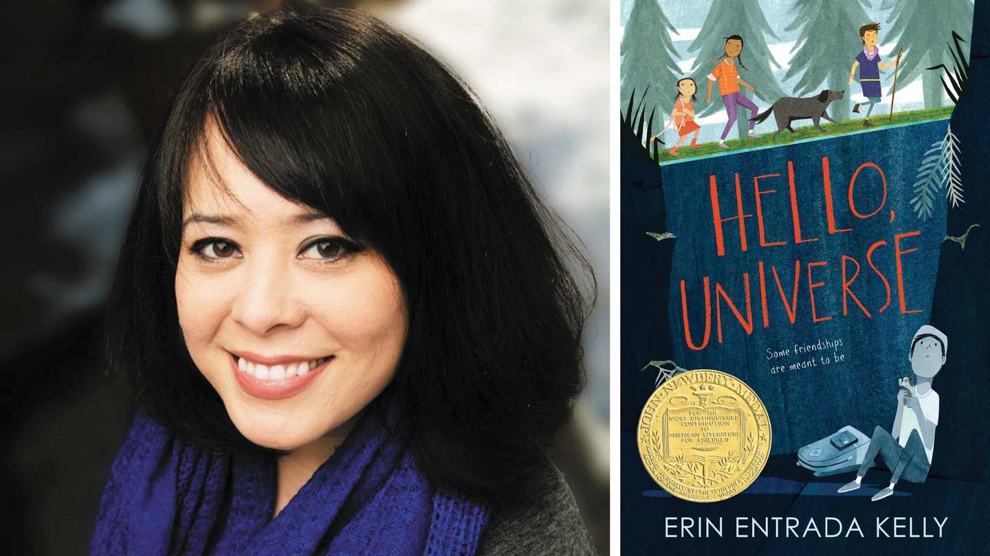 Hello, Universe by Erin Kelly published by Greenwillow Books. Courtesy HarperCollins