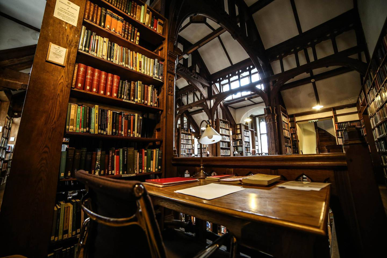 Reading Room at Gladstone Library. Courtesy Gladstone Library