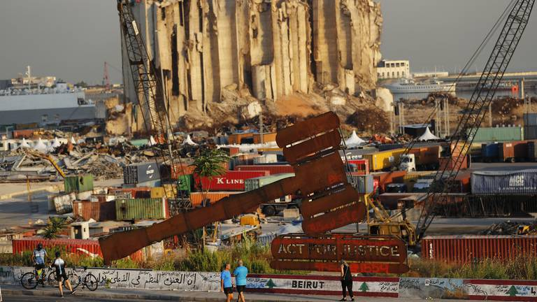 An image that illustrates this article Beyond the Headlines: Is the Beirut explosion investigation re-opening old wounds?