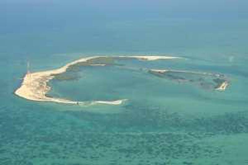 July 1, 2009- provided photo of Bu Tinah and it's spectacular array of land and marine species that have won it protected status as art of the Marawah Marine Biosphere Reserve, the largest protected area in the United Arab EmiratesCredit: Sheikh Ahmad Bin Hamdan  *** Local Caption ***  Reference Sh Ahmad Bin Hamdan (22).JPG