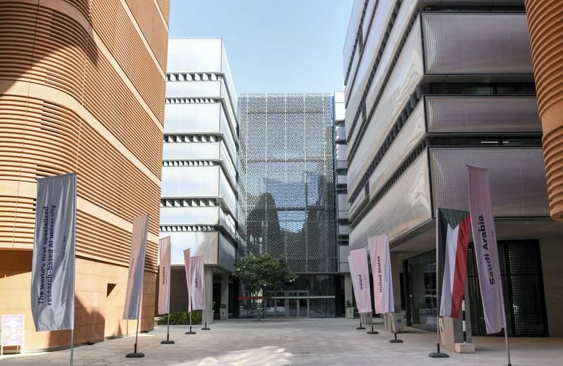 Abu Dhabi, United Arab Emirates - G42 Healthcare space in Masdar City. Khushnum Bhandari for The National