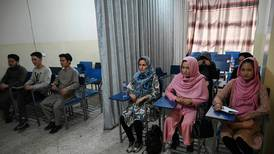 Students segregated as university term resumes in Kabul