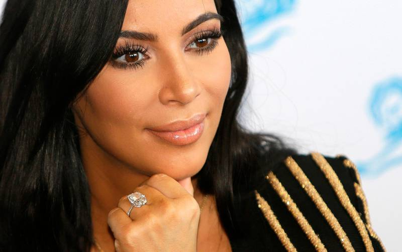 FILE - In this June 24, 2015 file photo, American TV personality Kim Kardashian attends the Cannes Lions 2015, International Advertising Festival in Cannes, southern France. A new suspect is facing potential charges in the investigation into a 2016 jewelry heist in Paris targeting Kim Kardashian West. A judicial official said Friday April 13, 2018 the suspect was detained Tuesday, and is meeting Friday with an investigative judge who is expected to file preliminary charges. (AP Photo/Lionel Cironneau, File)