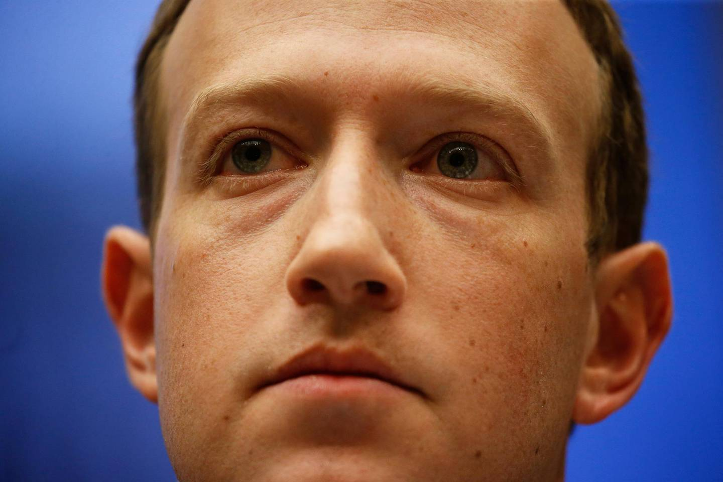 FILE PHOTO: Facebook CEO Mark Zuckerberg testifies before a House Energy and Commerce Committee hearing regarding the company's use and protection of user data on Capitol Hill in Washington, U.S., April 11, 2018. REUTERS/Leah Millis/File Photo