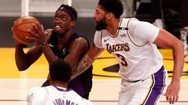 Los Angeles Lakers continue downward slide after loss to depleted Toronto Raptors