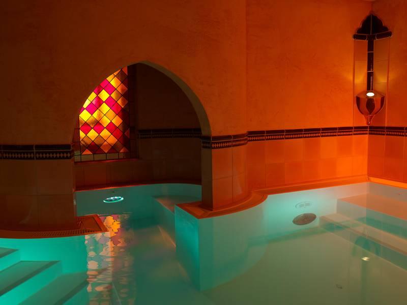 A handout photo of Spa Brine Bath at Hotel Die Sonne Frankenberg (Courtesy: Hotel Die Sonne Frankenberg)