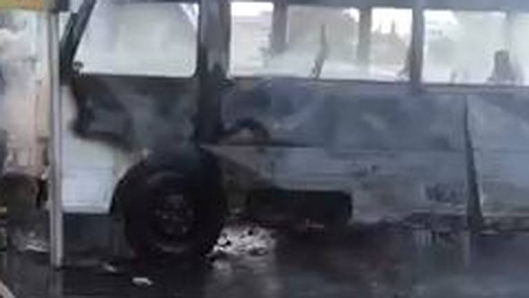An image that illustrates this article At least 14 dead and two injured in Damascus bus blast