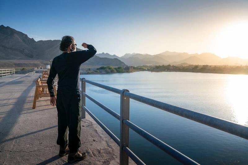 Sheikh Mohammed bin Rashid Al Maktoum tours Hatta. Twitter