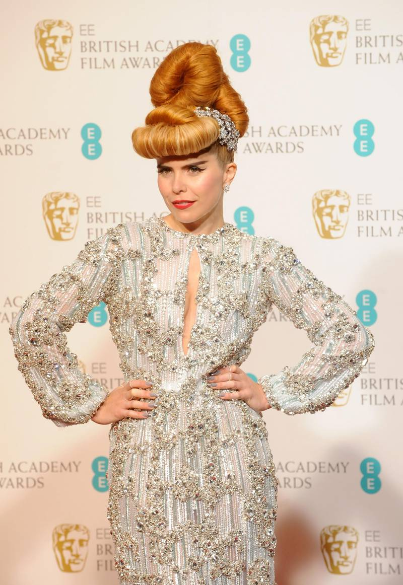 LONDON, ENGLAND - FEBRUARY 10:  Paloma Faith poses in the press room at the EE British Academy Film Awards at The Royal Opera House on February 10, 2013 in London, England.  (Photo by Stuart Wilson/Getty Images)