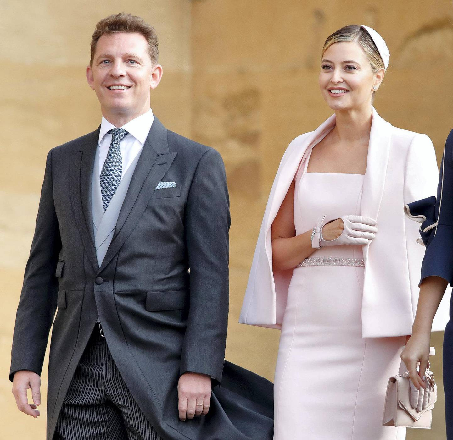 WINDSOR, UNITED KINGDOM - OCTOBER 12: (EMBARGOED FOR PUBLICATION IN UK NEWSPAPERS UNTIL 24 HOURS AFTER CREATE DATE AND TIME) Nick Candy and Holly Valance attend the wedding of Princess Eugenie of York and Jack Brooksbank at St George's Chapel on October 12, 2018 in Windsor, England. (Photo by Max Mumby/Indigo/Getty Images)