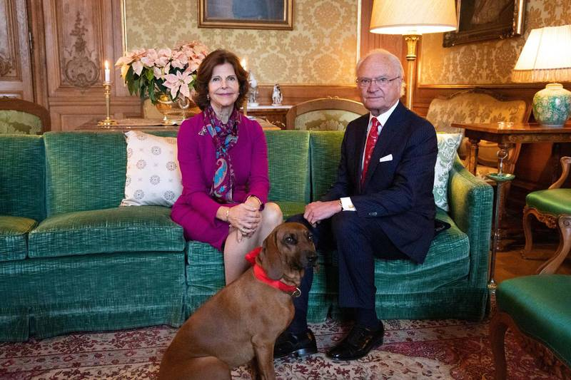 King Carl XVI Gustaf and Queen Silvia. Sara Friberg / Royal Court of Sweden