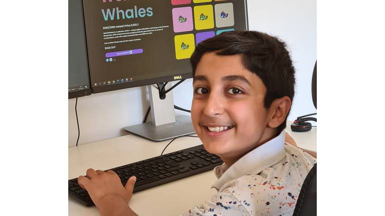 An image that illustrates this article How a 12-year-old coder says he made $600,000 by selling Weird Whales NFTs