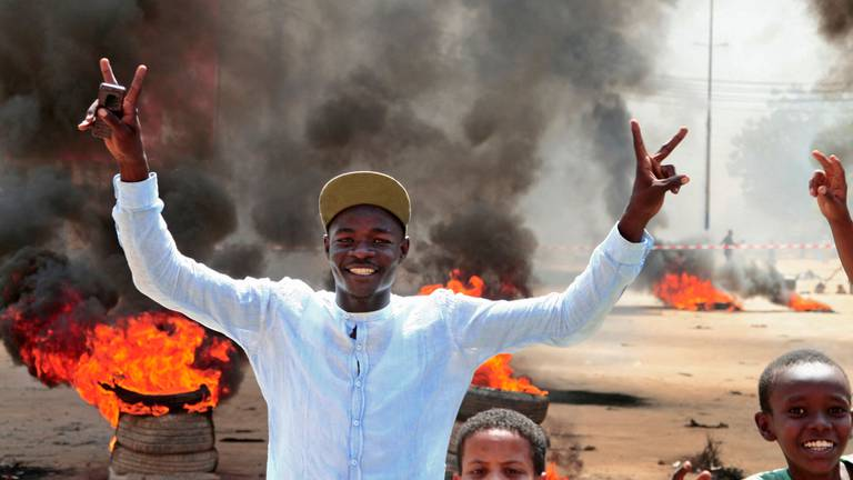 An image that illustrates this article Sudanese activists vow not to back down until military rule ends