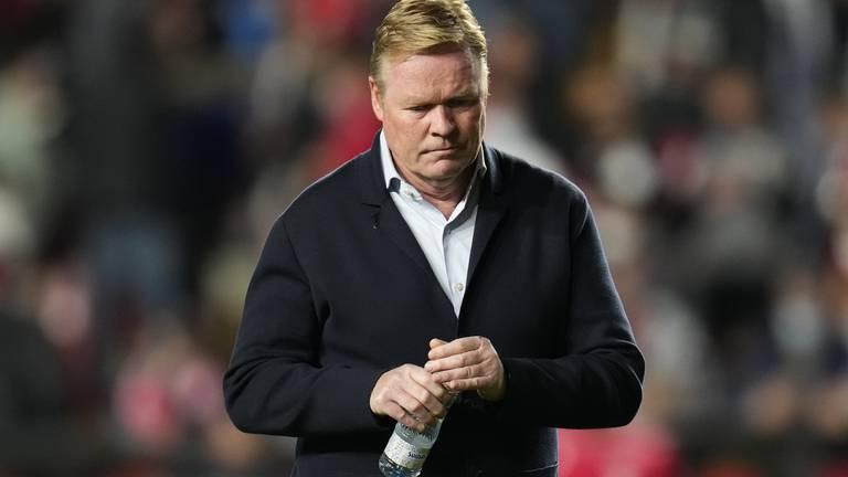 An image that illustrates this article Ronald Koeman sacked after Barcelona lose at Rayo Vallecano
