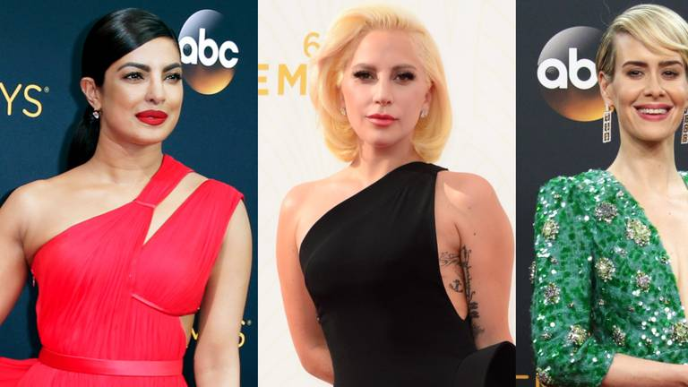 An image that illustrates this article Emmy Awards: the 59 best red carpet dresses worn since 2000