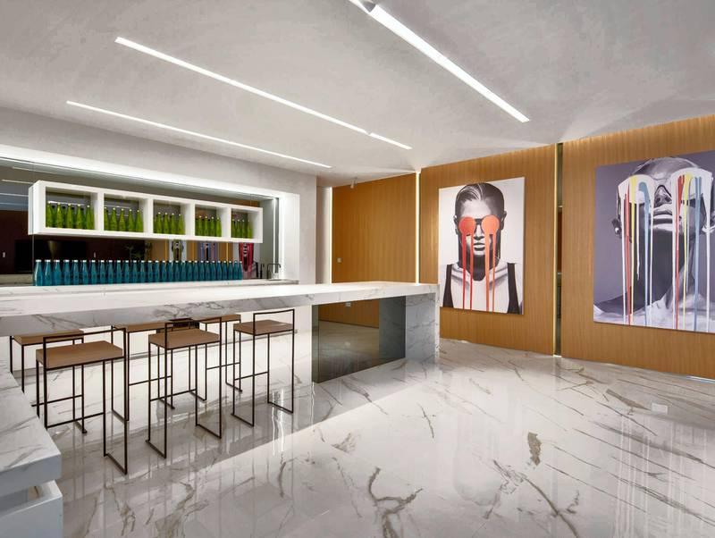 Pearl Jumeira villa.Courtesy Luxhabitat Sotheby's International Realty