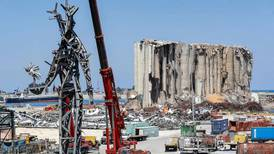 'The Gesture': new Beirut sculpture to honour victims of port explosion