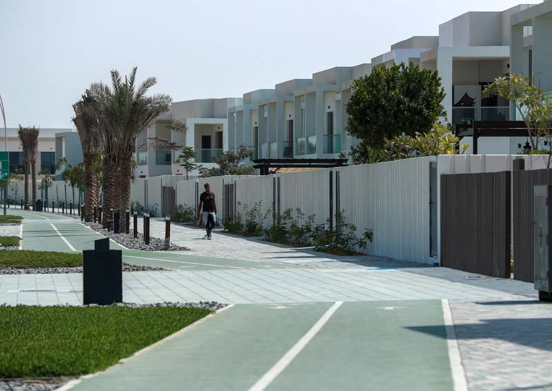 Abu Dhabi, United Arab Emirates, March 2, 2021.   Stock images of Yas residential areas.  Yas Acres residential village.Victor Besa / The NationalSection:  NA