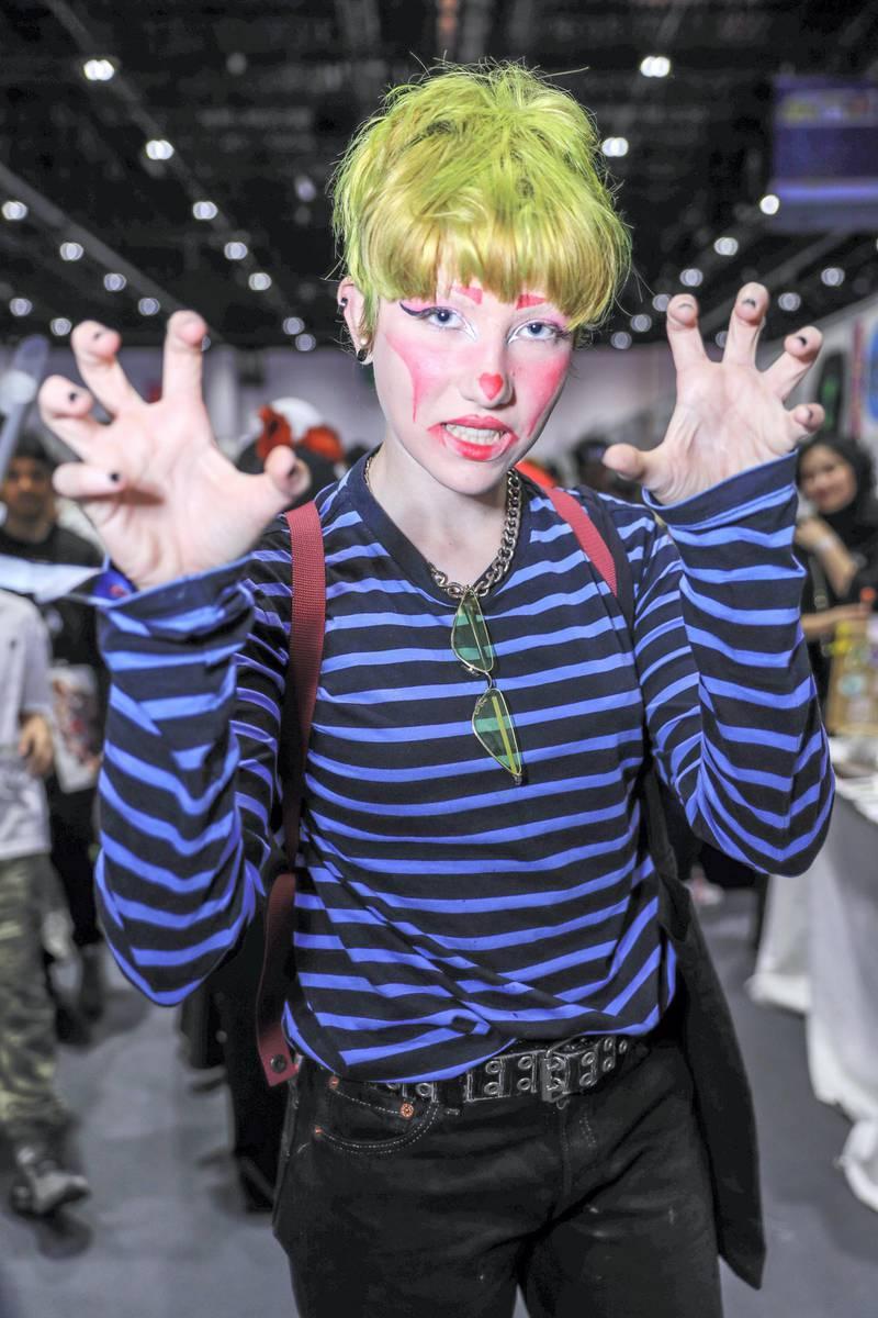 Dubai, April 12, 2019.  MEFCC day 2-Tia Planojevic, Drag Artist.Victor Besa/The National.Section:  AC  Reporter:  Chris Newbould