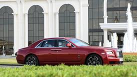 Take a load off in a race-ready Rolls-Royce